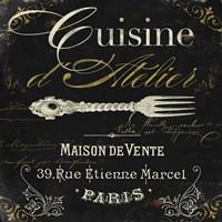 La Cuisine I Framed Print