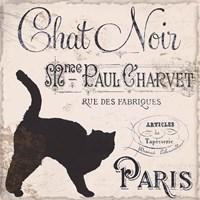 Les Chats II Framed Print