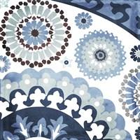 Moroccan Blues I Framed Print