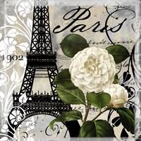 Paris Blanc I Framed Print