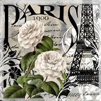 Paris Blanc II Framed Print