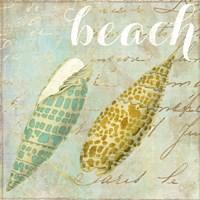 Turquoise Beach II Framed Print