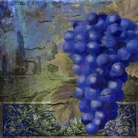 Vino Blu One Framed Print