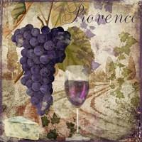 Wine Country III Framed Print
