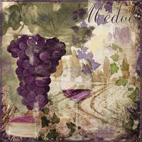 Wine Country IV Framed Print