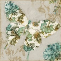 Winged Tapestry II Framed Print