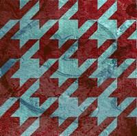 Houndstooth IV Framed Print