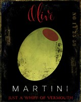Olive Martini I Fine Art Print