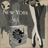 New York Style II Framed Print