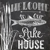 Lake House I Framed Print
