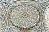 Catedral Mosque of Cordoba, Ceiling, Cordoba, Andalucia, Spain Fine Art Print