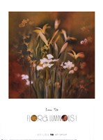 Flora Luminous I Framed Print
