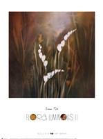 Flora Luminous II Framed Print