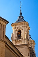 Spain, Granada Bell tower of the Church of San Justo y Pastor Fine Art Print
