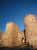 Avila City Wall, Spain Fine Art Print