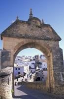 Entry to Jewish Quarter, Puerta de la Exijara, Ronda, Spain Fine Art Print