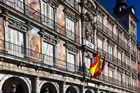 Spain, Madrid, Plaza Mayor, Building Detail Fine Art Print