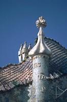 Antonio Gaudi's Cassa Batilo, Barcelona, Spain Fine Art Print