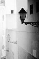 Streelights, Palma, Mallorca, Spain Fine Art Print