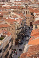 Rua Mayor, Salamanca, Spain Fine Art Print