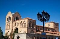 San Vicente Basilica facade at Avila, Castilla y Leon Region, Spain Fine Art Print