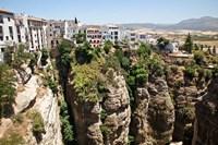 Spain, Andalusia, Malaga Province Hillside town of Ronda Fine Art Print