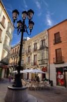 An Outdoor Cafe,  Avila, Spain Fine Art Print