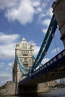 The Tower Bridge over the Thames River in London, England Fine Art Print