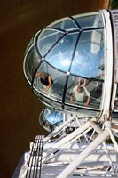 London Eye, London, England Fine Art Print