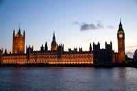 Big Ben, Houses of Parliament, London, England Fine Art Print