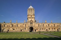 Tom Tower, Christchurch University, Oxford, England Fine Art Print