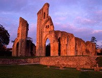 Glastonbury Abbey, England Fine Art Print