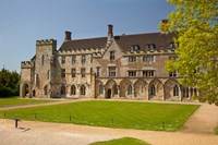Battle Abbey School, Battle, East Sussex, England Fine Art Print