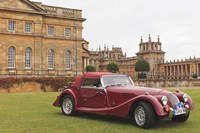 Classic cars, Blenheim Palace, Oxfordshire, England Fine Art Print