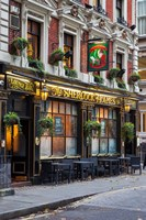 The Sherlock Holmes Pub, Trafalgar, London, England Fine Art Print