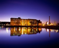Albert Dock, Liverpool, Merseyside, England Fine Art Print