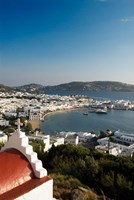 Inner harbor of Mykonos, Chora, Mykonos, Greece Fine Art Print