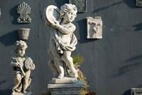 Greece, Ionian Islands, Kefalonia, Cherub Statue Fine Art Print
