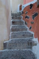 Old Stairway, Oia, Santorini, Greece Fine Art Print