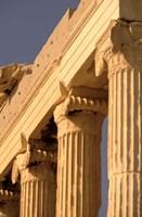Column Detail, The Acropolis, Attica, Athens, Greece Fine Art Print