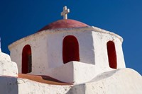 One of Many Chapels, Mykonos, Greece Fine Art Print