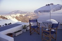 View Toward Caldera, Imerovigli, Santorini, Greece Fine Art Print
