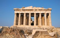 Parthenon, Ancient Architecture, Acropolis, Athens, Greece Fine Art Print