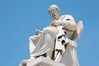 Aristotle statue, Greek Philosopher, Athens, Greece Fine Art Print