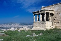 Porch of The Caryatids, Acropolis of Athens, Greece Fine Art Print