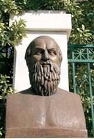 Aeschylus, Classical Athens Bust, Statue, Athens, Greece Fine Art Print