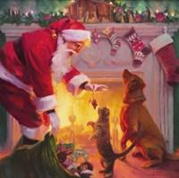 Santa Something For Everyone Fine Art Print