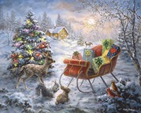 Tis' The Night Before Xmas Fine Art Print