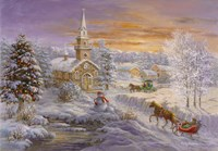 Holiday Worship Fine Art Print