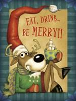 Reindeer Cocoa Fine Art Print
